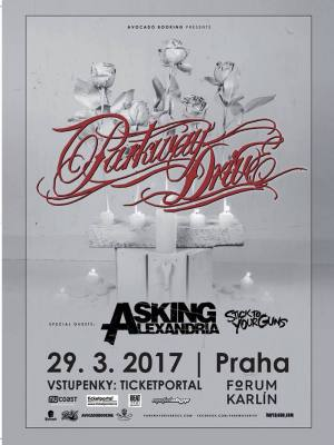 PARKWAY DRIVE (AUS), ASKING ALEXANDRIA (UK), STICK TO YOUR GUNS (USA)