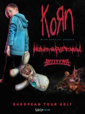 KORN (USA), HEAVEN SHALL BURN (DE), HELLYEAH (USA)