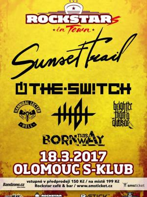 RockstarS in Town @ S Klub: Sunset Trail, The.Switch, TTIOT