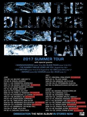 THE DILLINGER ESCAPE PLAN (USA) + The Number Twelve Looks Like You (USA) + God Mother (SWE)