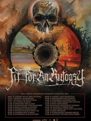 Fit For An Autopsy (USA) - 15.8. @ Rock Café Southrock