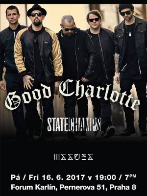 Good Charlotte + State Champs + Issues