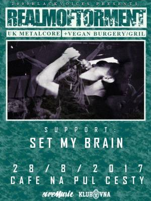 Realm of Torment (UK) + Set My Brain (CZ)