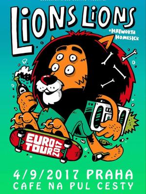 Lions Lions (USA) + Hayworth (UK) +Homesick + Lets Go To The Petrol Station