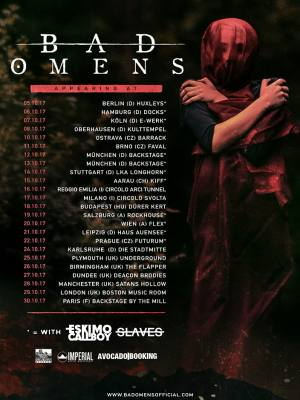Bad Omens (USA) + Sunset Trail + Countless + Abyss, Watching Me