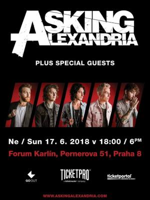 Asking Alexandria / Bury Tomorrow / Blessthefall / Any Given Day