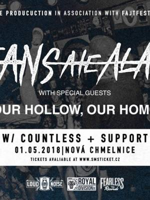 OCEANS ATE ALASKA (UK) + Our Hollow Our Home (UK) + Countless + support