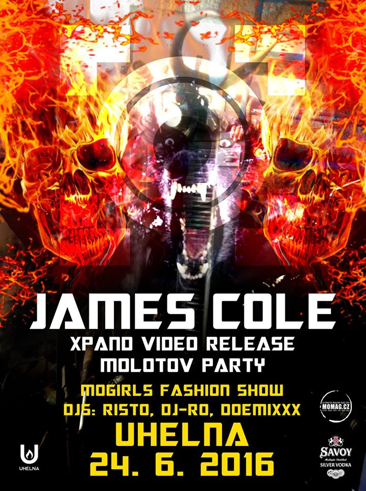 JAMES COLE Live / XPAND Video Release / MOgirls Fashion show