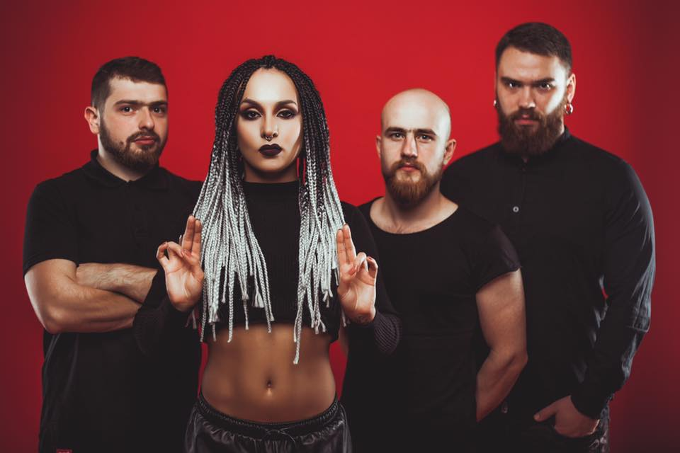 JINJER (UA), UP!GREAT (CZ), SAVED BY THE FORTUNE (CZ)
